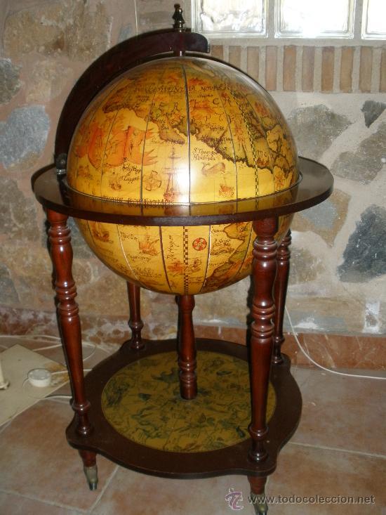 Antigua bola del mundo botellero comprar en - Bola del mundo decoracion ...