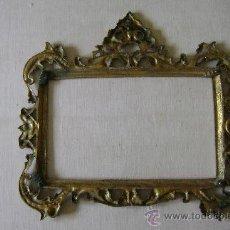 Antigüedades: ANTIGUO MARCO DE BRONCE. Lote 38751414