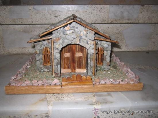 Casa de piedra en miniatura medida base 29 x 21 comprar antig edades varias en todocoleccion - Casas en miniatura de madera ...