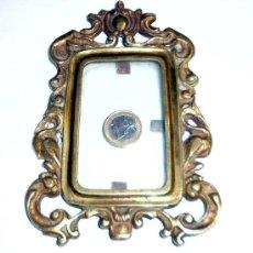 Antigüedades: MARCO DE BRONCE. Lote 38771501