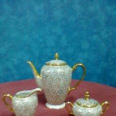 Antigüedades: JUEGO DE CAFE PORCELANA FRANCESA LIMOGES. Lote 38784168