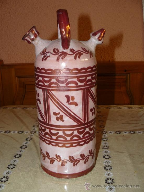 PIEZA DE MANISES. REFLEJOS. SIGLO XIX-PPS XX (Antigüedades - Porcelanas y Cerámicas - Manises)