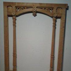 Antigüedades: FABULOSO ARCO DE PASO, ESTILO HISTORICISTA CON MOTIVOS FLORALES. Lote 38841980