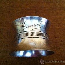 Antigüedades: ANTIGUO SERVILLETERO ARGENT. Lote 42520642
