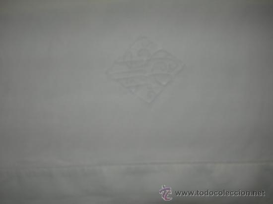 Antigüedades: ANTIGUA FUNDA DE ALMOHADA DE HILO, MIDE 90 X 46 CMS. - Foto 2 - 38891207