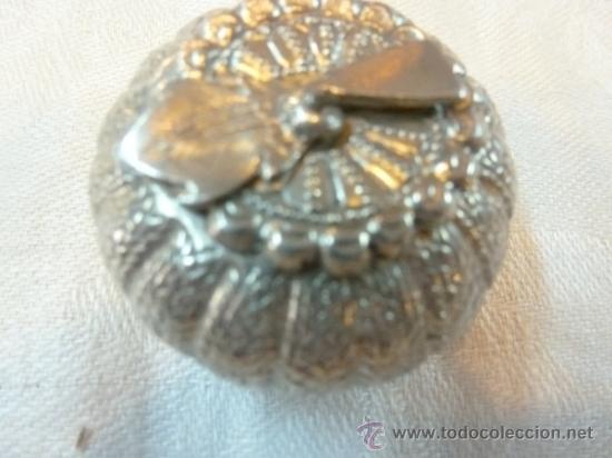 Antigüedades: caja de plata - Foto 7 - 38882387