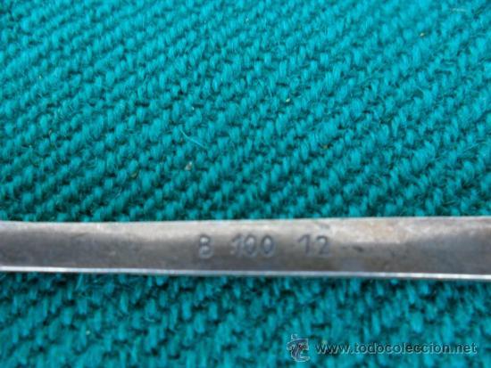 Antigüedades: cucharilla bañada en plata - Foto 3 - 38884118