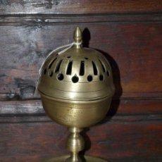 Antigüedades: INCENSARIO QUEMADOR ESENCIAS. BRONCE. S XVII. ESPAÑA. Lote 38891051