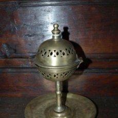 Antigüedades: INCENSARIO QUEMADOR ESENCIAS. BRONCE. C 1940. MARRUECOS. Lote 38891218