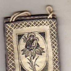 Antigüedades: ANTIGUO ESCAPULARIO DE SAN ANTONIO DE PADUA.. Lote 38899011