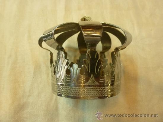 CORONA DE METAL (Antigüedades - Religiosas - Orfebrería Antigua)