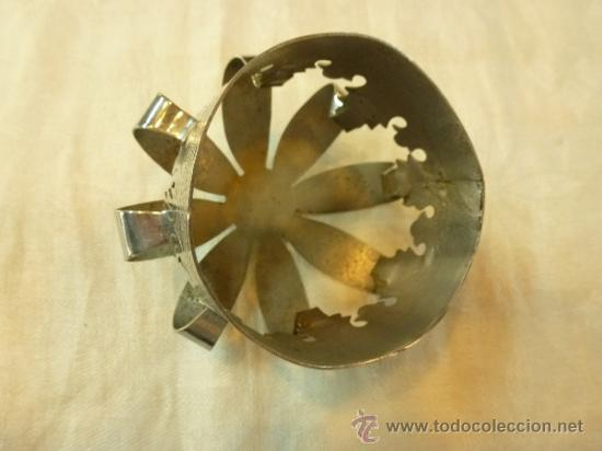 Antigüedades: CORONA DE METAL - Foto 6 - 38958925