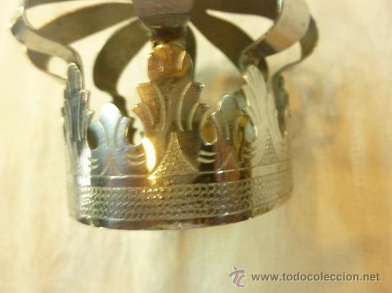 Antigüedades: CORONA DE METAL - Foto 5 - 38958925