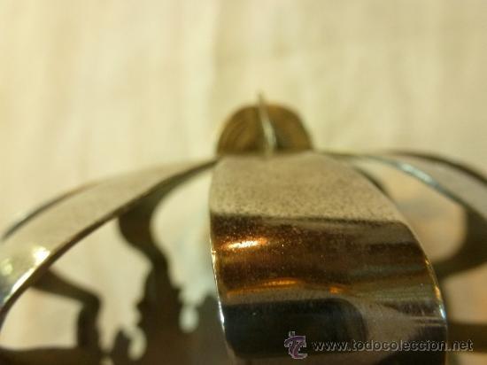 Antigüedades: CORONA DE METAL - Foto 4 - 38958925