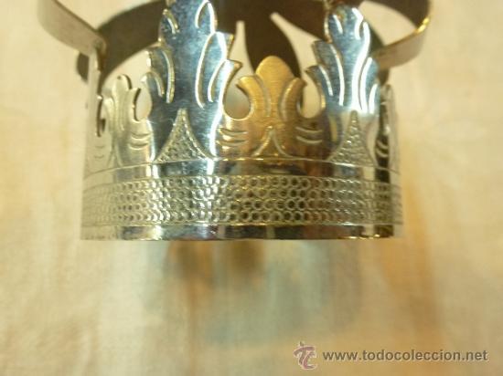 Antigüedades: CORONA DE METAL - Foto 2 - 38958925