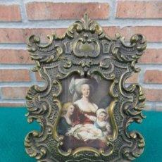 Antigüedades: PORTAFOTOS DE BRONCE. Lote 38910969