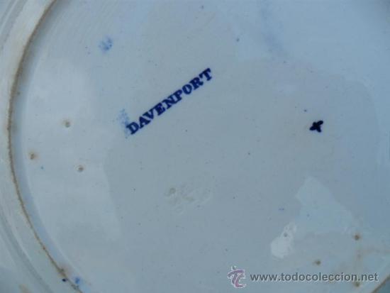 Antigüedades: plato de porcelana oriental - Foto 2 - 161199526