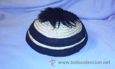ANTIGUO GORRO DE PAJA PARA NIÑO/A. (Antigüedades - Moda y Complementos - Infantil)
