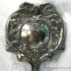 Antigüedades: ESPEJO DE MANO MODERNISTA. Lote 38932464