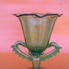 Antigüedades: COPA VIDRIO SOPLADO. GORDIOLA .FINALES S XIX - PP. S. XX. Lote 38935317