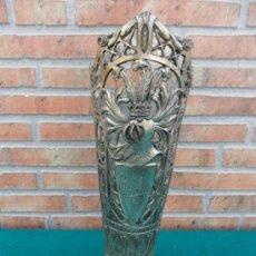 Antigüedades: FLORERO DE ESTAÑO. Lote 38970091
