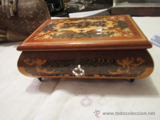 caja de msica en madera con trabajo marquetera msica dr zivago x x cms