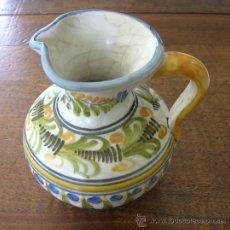Antigüedades: JARRITA DE TALAVERA POLICROMADA Nª 18.. Lote 39006775