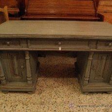 Antigüedades: MESA DE DESPACHO FINALES DEL XIX. Lote 39007170