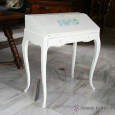 Antigüedades: PEQUEÑO ESCRITORIO BLANCO REF.5522. Lote 39042711