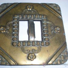 Antigüedades: SIGLO XIX HEBILLA ANTIGUA METALICA PARA CINTURON MODA. Lote 39017203