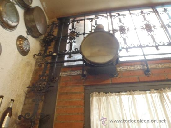 Antigüedades: FAROL DE TREN DELANTERO MAQUINA DE VAPOR 75 CM DE ALTURA RENFE - Foto 5 - 40727565
