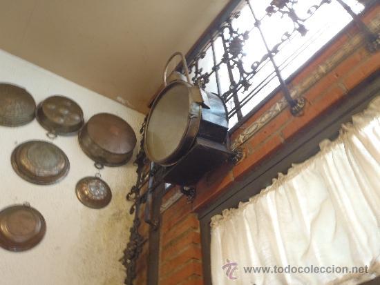 Antigüedades: FAROL DE TREN DELANTERO MAQUINA DE VAPOR 75 CM DE ALTURA RENFE - Foto 6 - 40727565