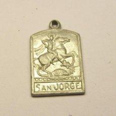 Antiquités: MEDALLA RELIGIOSA DE SAN JORGE.. Lote 39046229