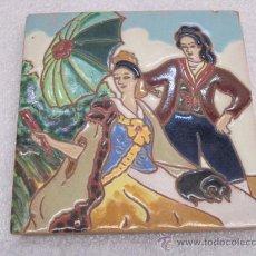 Azulejo de hijo de j menasque de sevilla comprar for Azulejos antiguos sevilla
