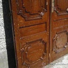 Antigüedades: ANTIGUAS PUERTAS DE PINO MELIS - TALLER LOSCERTALES, ZARAGOZA.. Lote 48428829