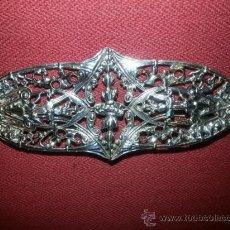Antigüedades: FANTASTICO BROCHE ANTIGUO EN PLATA. Lote 39086790
