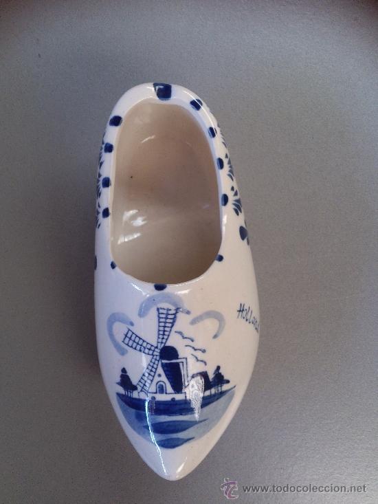 RECUERDO DE HOLANDA (Antigüedades - Porcelana y Cerámica - Holandesa - Delft)