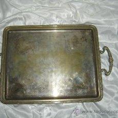 Antigüedades: ANTIGUA BANDEJA SIGLO XIX. PLATEADA.. Lote 39125806
