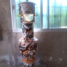 Antigüedades: ANTIGUO DEPURADOR DE AGUA , SINAI , CONRADO GRANELL, CON PRECIOSA DECORACION TIPICA DE MANISES.. Lote 212376197