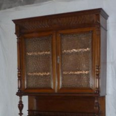 Antigüedades: APARADOR-VITRINA. Lote 39142010
