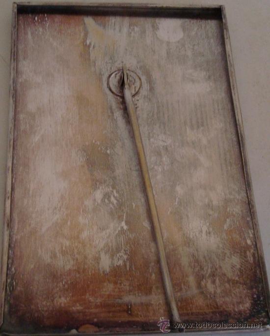 Antigüedades: ANTIGUO PORTARETRATO DE METAL ESTILO MODERNISTA - Foto 8 - 39158112