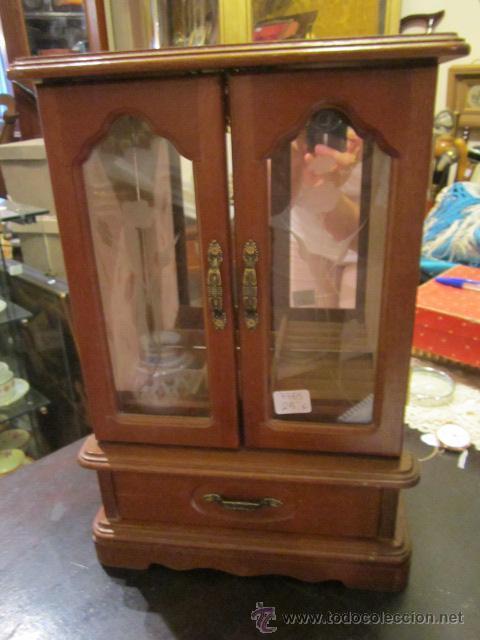 joyero - armario en miniatura con caja de músic - Comprar Muebles ...