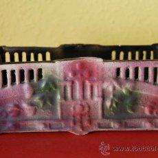 Antigüedades: PIEZA MODERNISTA DE PORCELANA - ART NOUVEAU - SELLADA Y NUMERADA EN LA BASE - FINALES SIGLO XIX. Lote 39164093