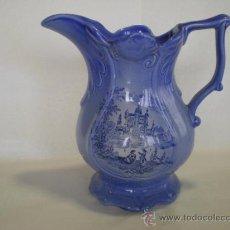 Antigüedades: JARRITA DE PORCELANA INGLESA - VENETIAN - FLEUR BLUE. Lote 39177026