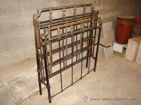 Antigua cama de hierro de las llamadas de monja vendido - Camas antiguas de hierro ...