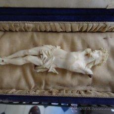 Antigüedades: ANTIGUA CAJA - CAMA - URNA - JOYERO - IDEAL PARA CRISTO DIFUNTO , VIRGEN DEL TRANSITO, O NIÑO JESUS . Lote 42190371