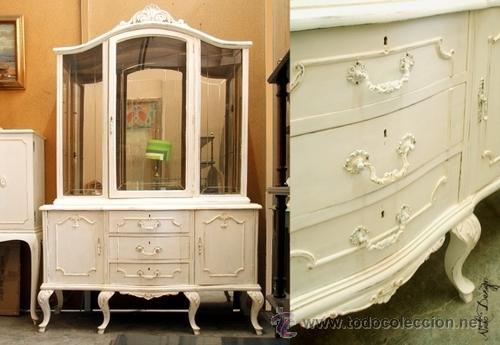 Vitrina antigua blanco envejecido vendido en venta directa 39216136 - Muebles blanco envejecido ...