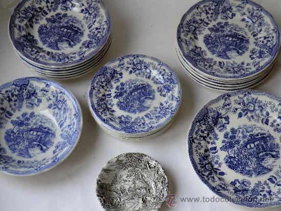 Vajilla ironstone tableware inglesa o italiana comprar botijos jarras nforas y otras - Vajilla inglesa ...