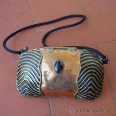 Antigüedades: BOLSO DE FIESTA , DE COBRE .... SANNA. Lote 39241038