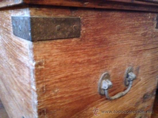 Antigüedades: ARCON-BAUL RUSTICO - Foto 2 - 39267777